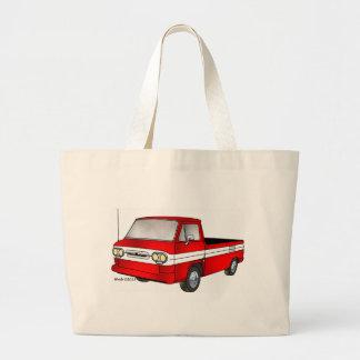 60-61 Corvair Rampside Pickup Large Tote Bag