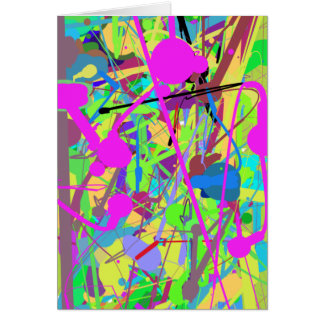 60-93 Springtime Colors Card