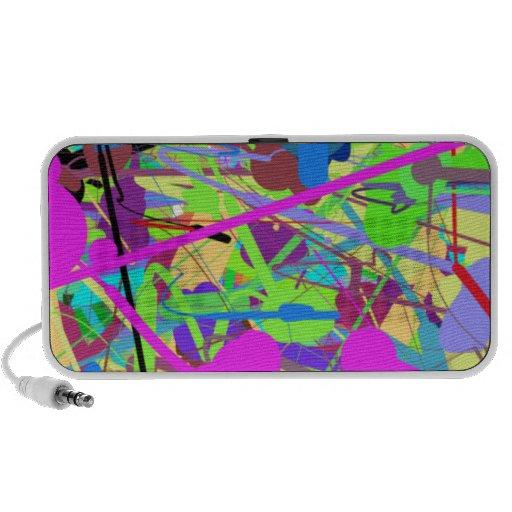 60-93 Springtime Colors iPod Speaker