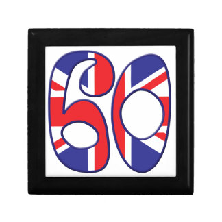 60 Age UK Small Square Gift Box