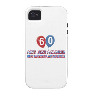 60 aint just a number iPhone 4 cover