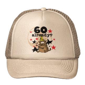 60 Already Birthday Hat