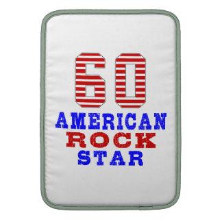 60 American rock star MacBook Sleeve