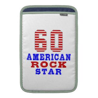 60 American rock star MacBook Air Sleeves