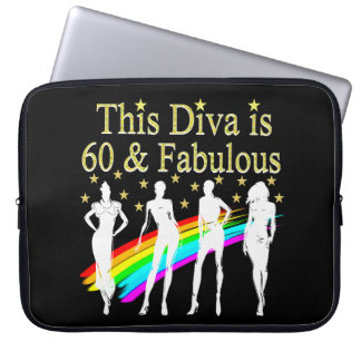 60 AND FABULOUS DAZZLING DIVA DESIGN LAPTOP COMPUTER SLEEVES