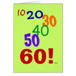 60 and still accounting! - 60th Birthday Card