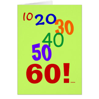 60 and still accounting! - 60th Birthday Card