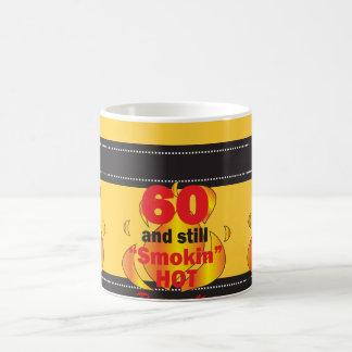60 and Still Smokin Hot Coffee Mugs