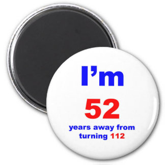 60 Birthday 6 Cm Round Magnet