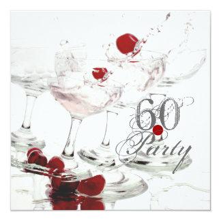 60 Birthday celebration party major CUSTOMIZE Personalized Invitations