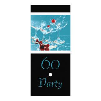 60 Birthday celebration party major CUSTOMIZE Custom Invitations