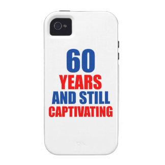 60 birthday design iPhone 4 covers
