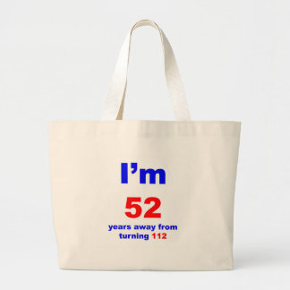 60 Birthday Jumbo Tote Bag