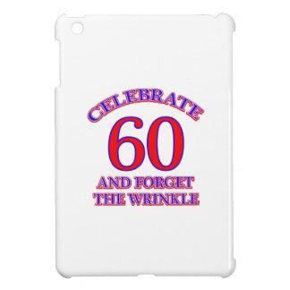 60 Birthsay  Design iPad Mini Covers