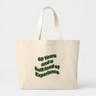 60 butt-load jumbo tote bag