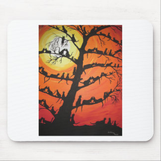 60 Cats In The Love Tree Mouse Pad