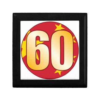 60 CHINA Gold Small Square Gift Box