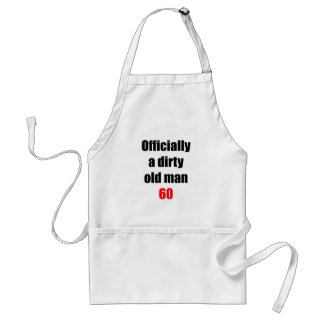 60  Dirty Old Man Standard Apron