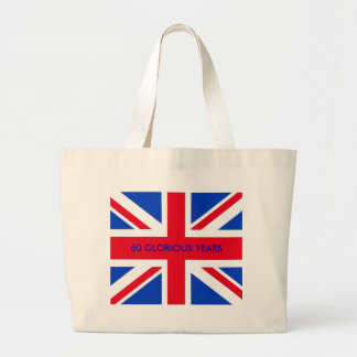 60 GLORIOUS YEARS LARGE TOTE BAG