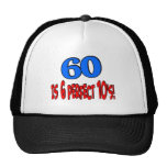 60 is 6 perfect 10's (BLUE) Trucker Hats