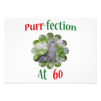 60 Purr-fection Announcement