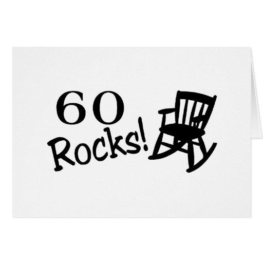 60 Rocks (Rocker) Card