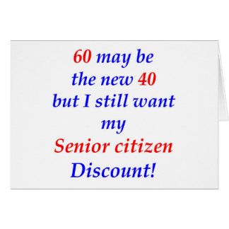 60 Senior Citizen Card