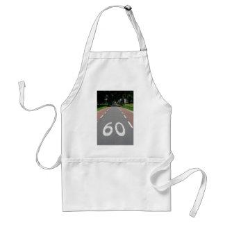 60 sixty standard apron