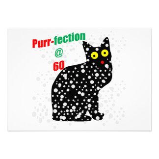 60 Snow Cat Purr-fection Personalized Invites