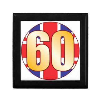 60 UK Gold Gift Box