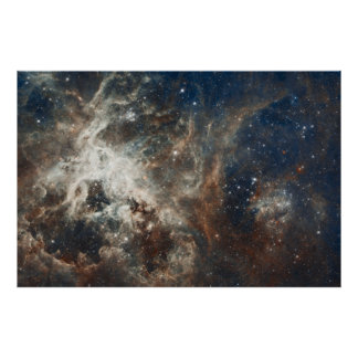 "60""x40"" Hubble Large Magellanic Cloud Nebula Print"