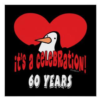 60 Year Celebration Penguin