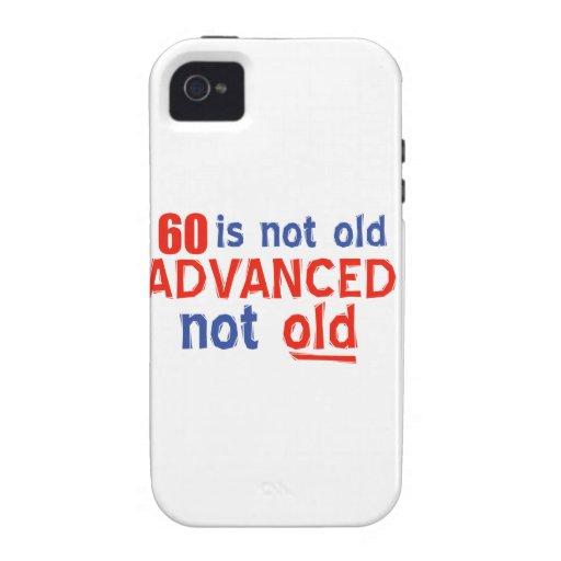 60 year old birthday designs iPhone 4 case