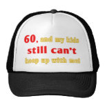 60 Year Old Gag Gift Mesh Hat