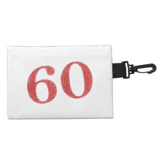 60 years anniversary accessory bag