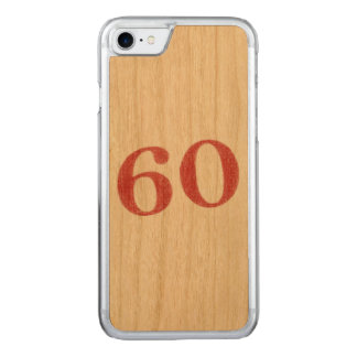 60 years anniversary carved iPhone 8/7 case