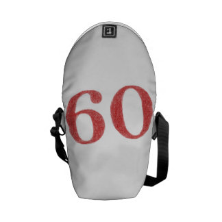 60 years anniversary courier bags