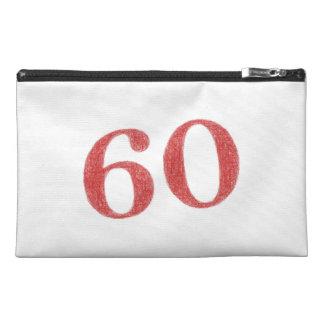 60 years anniversary travel accessories bag