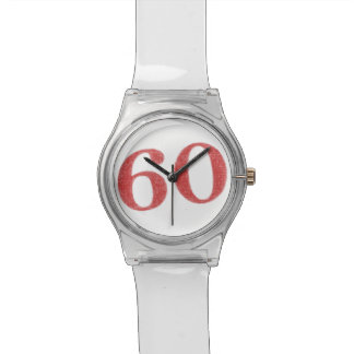 60 years anniversary watch