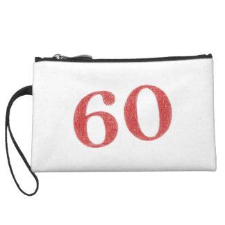 60 years anniversary wristlet clutch