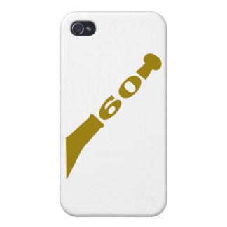 60-years-celebration-gold iPhone 4/4S cases