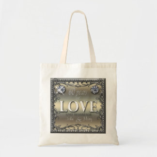 60 Years of Love Canvas Bags