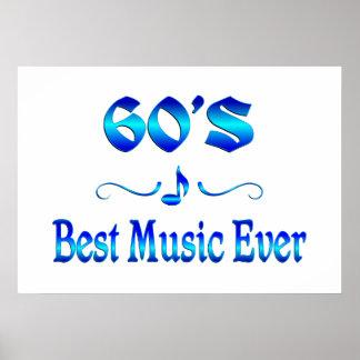 60s Best Music Print