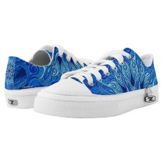 60's Blue Shoe's Low Tops
