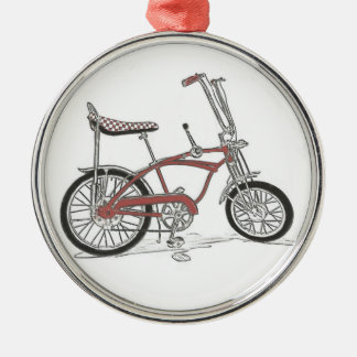 60's Classic Schwinn Stingray Muscle Bike Bicycle Christmas Ornament