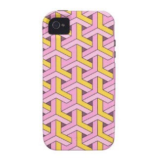 60s design pink Case-Mate iPhone 4 covers
