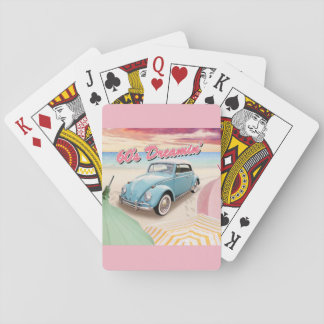 60's Dreaming Playing Cards