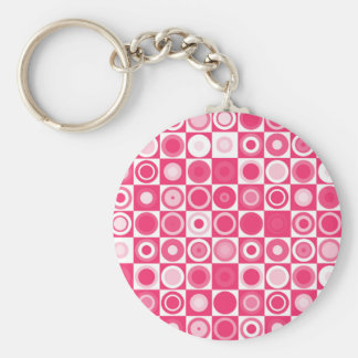 60's Fab Pink Keychains