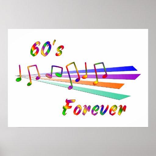 60's Forever Poster