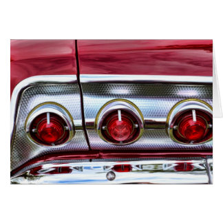 60's Impala Taillights Cards